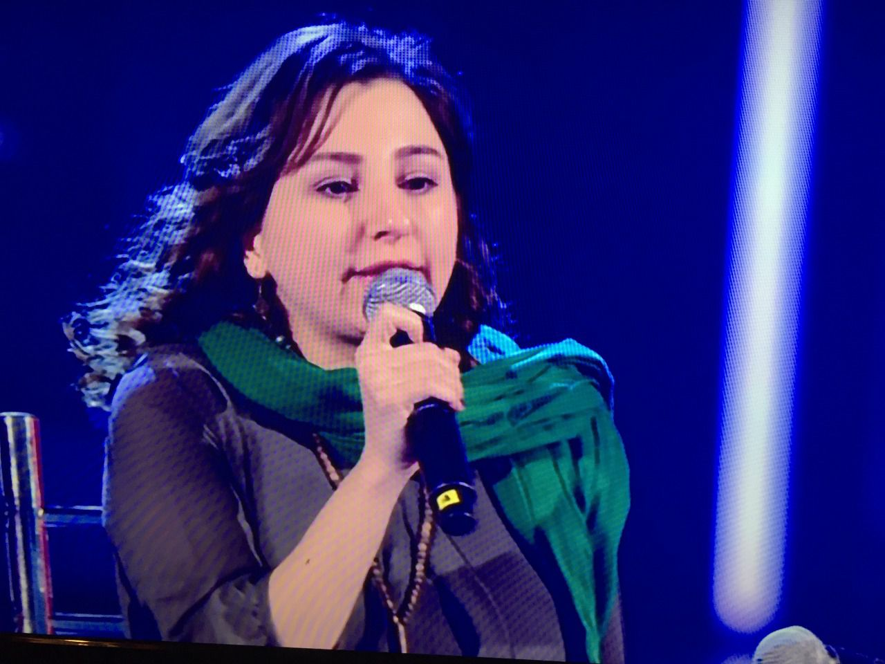 The Voice 4, Kimia canta la libertà, contro l'oppressione in Iran