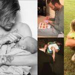 Papà vip e teneri 2.0: tutte le foto social dei vip alle prese con i loro figli