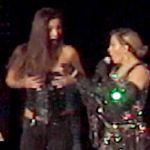 Madonna, a Brisbane per il tour Rebel Heart denuda il seno di una fan