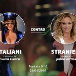 Ciao Darwin 7 - La Resurrezione: la replica di Italiani contro Stranieri