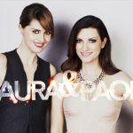 Laura Pausini e Paola Cortellesi, torna lo show della 'coppia di fatto'