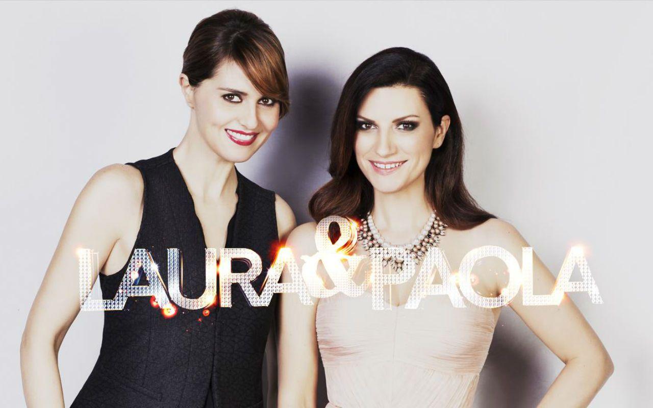 Laura e Paola con Kevin Costner e Luca Zingaretti nella seconda puntata