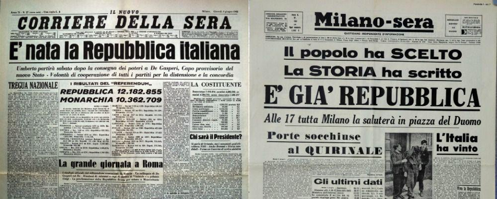 Rai storia racconta l alba della repubblica ospite for Repubblica italiana nascita