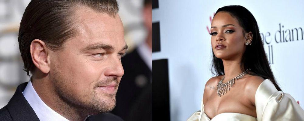 Leonardo Di Caprio e Rihanna pizzicati insieme al Coachella