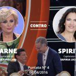 Ciao Darwin 7, è il momento di Tina Cipollari: nella quarta puntata sfida Safiria Leccese