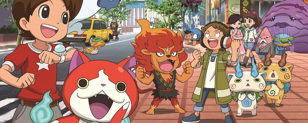 Yo-Kai Watch, il cartoon giapponese nato da un videogioco, sbarca su Cartoon Network