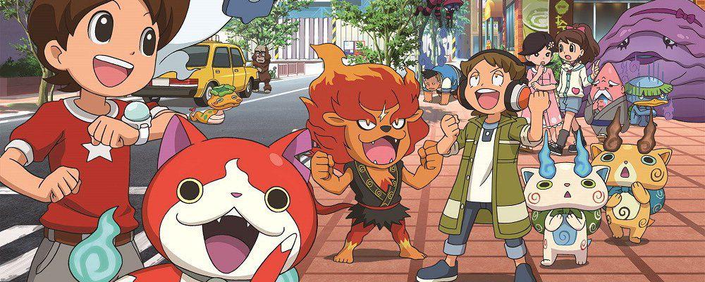 Yo-Kai Watch, il cartoon giapponese nato da un videogioco, sbarca su Cartoon Network