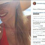 Michelle Hunziker primo bikini al sole della Liguria