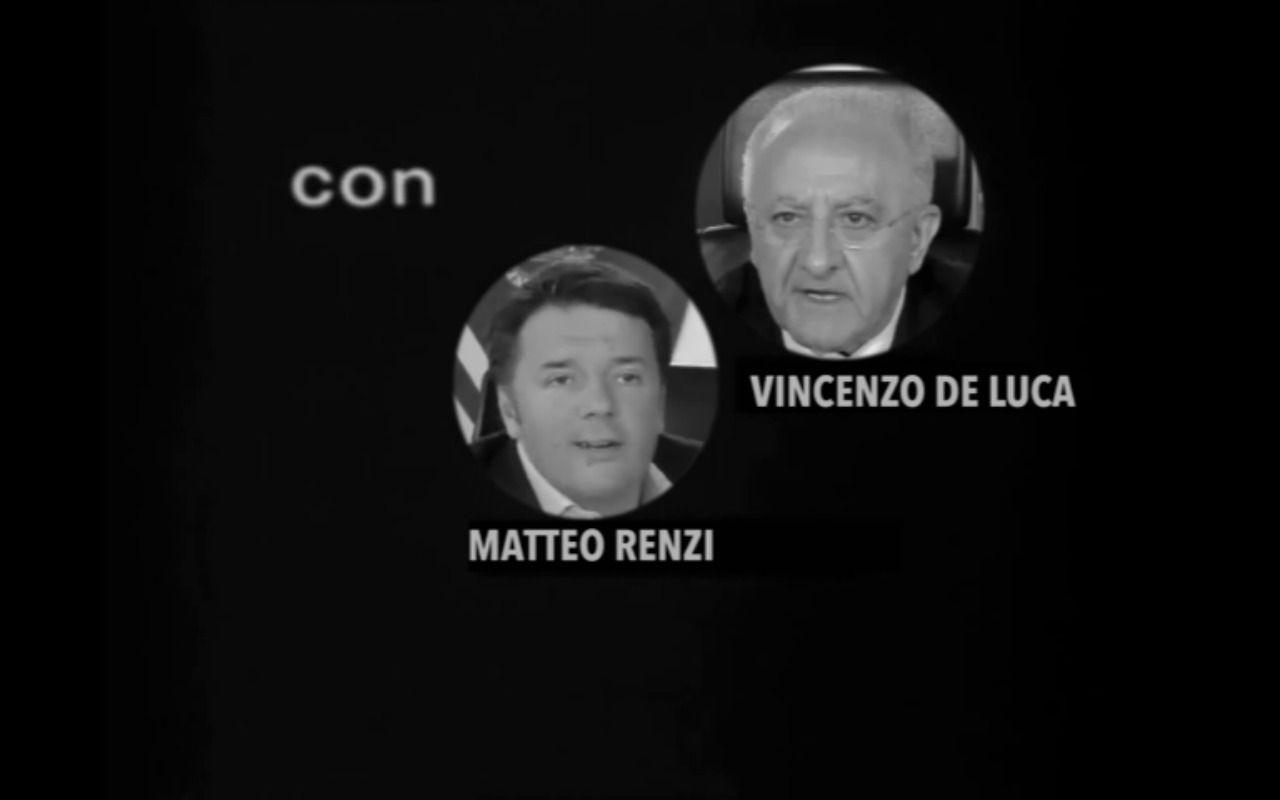 Niente Risposte: Renzi e De Luca come Totò e Peppino