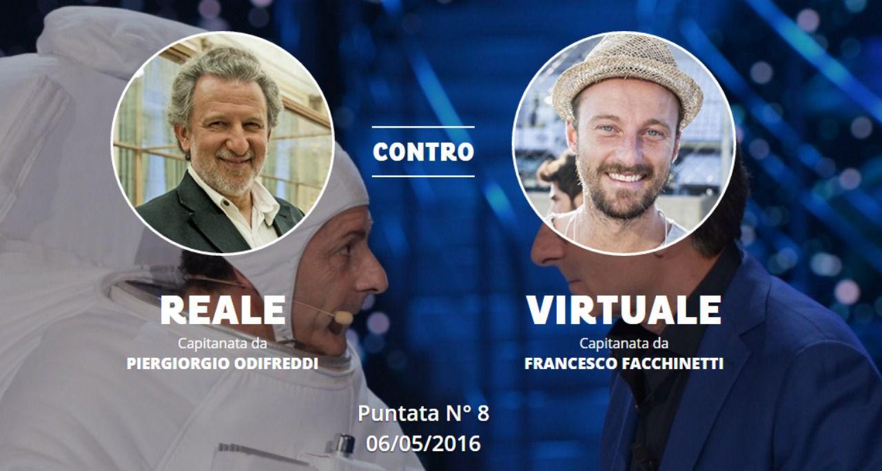Ciao Darwin 7, ultima puntata: reale vs virtuale