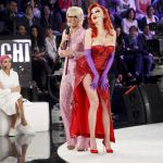 Amici 2016, Virginia Raffaele è Jessica Rabbit... ma parla come Wanna Marchi