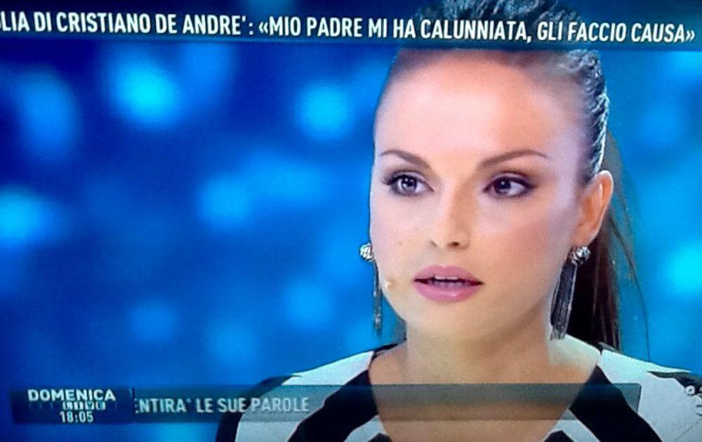 Francesca De Andrè ha querelato il padre Cristiano