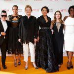 Orange is the new black, al via su Netflix la quarta stagione, le protagoniste elegantissime