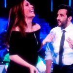 Serena Rossi incinta al Grande Match, primo figlio con Davide Devenuto