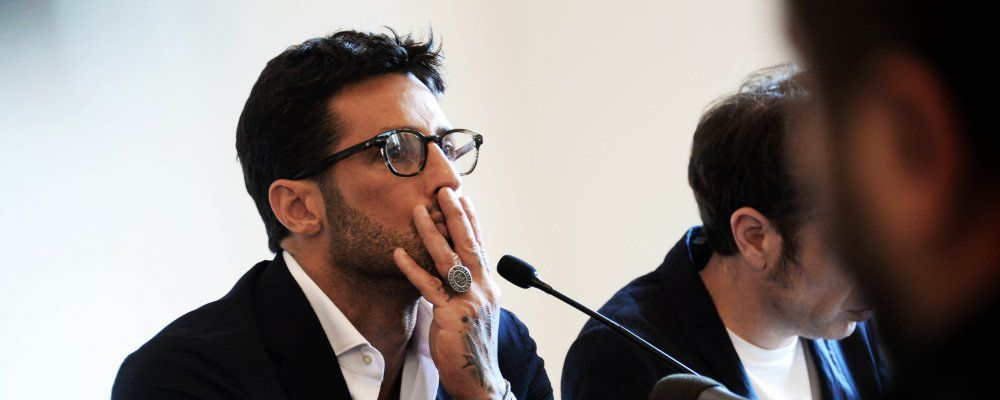 Fabrizio Corona presenta la biografia La cattiva strada