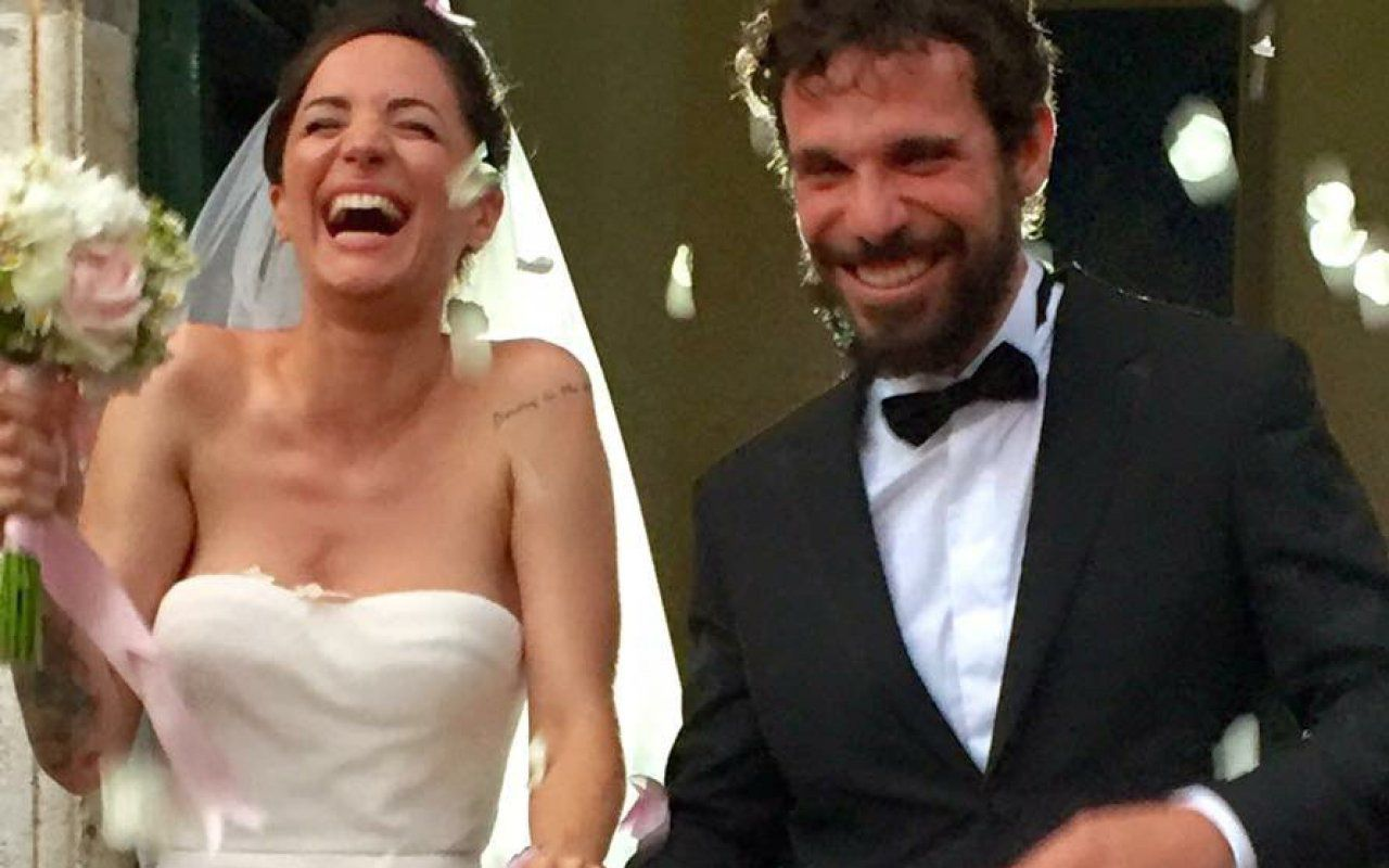 Auguri Matrimonio Greco : Andrea delogu e francesco montanari le immagini del