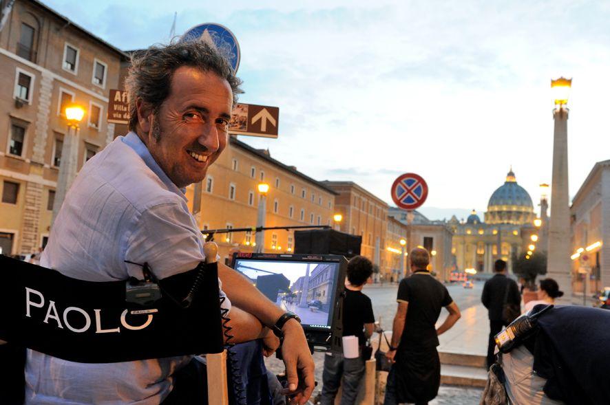 Paolo Sorrentino sul set di 'The young Pope'. 08/10/2015. foto di Gianni Fiorito