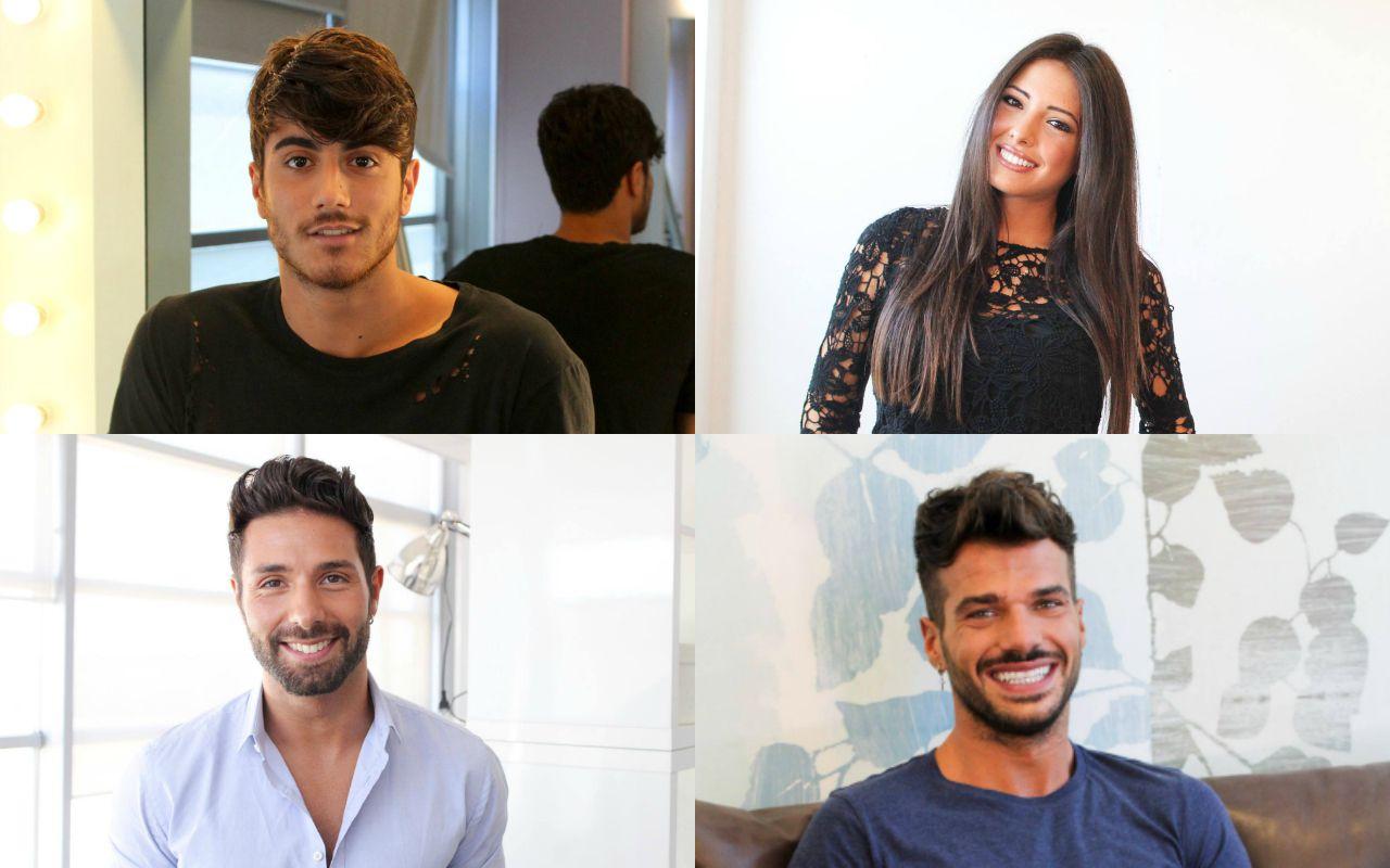 Uomini e donne, tronisti Claudio D'Angelo, Riccardo e Clarissa. Trono gay a Claudio Sona