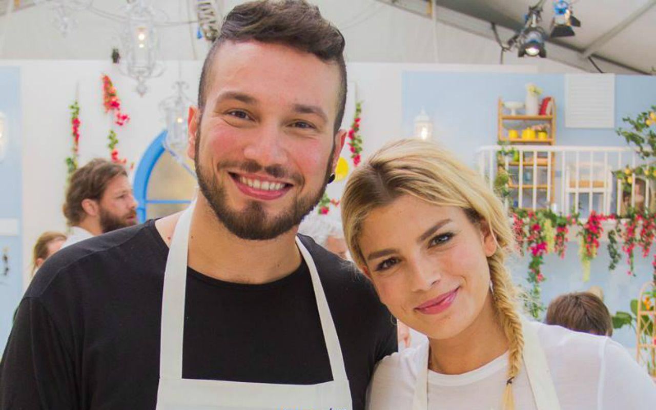 Bake Off Italia Celebrity Edition: ai fornelli Antonino Spadaccino e Emma Marrone