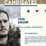 Game of Thrones, è partita la campagna elettorale. Jon Snow in testa