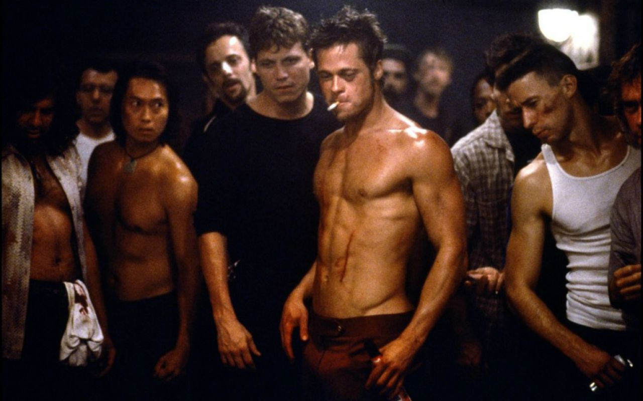 Fight Club, il film cult con Brad Pitt e Edward Norton su Paramount