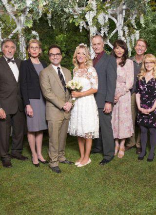 The Big Bang Theory 10, le foto del matrimonio di Leonard e Penny