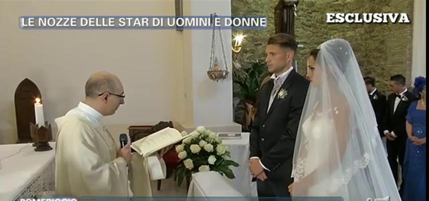 Matrimonio In Diretta Ferragnez : Uomini e donne matrimonio in diretta a pomeriggio per