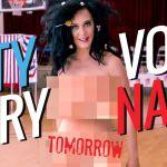 Katy Perry nuda per Hillary Clinton e 'arrestata' dalla polizia. E Madonna la imita