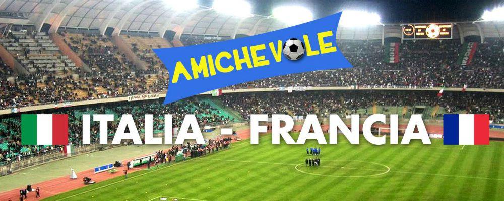 Italia - Francia, il debutto degli azzurri di Ventura
