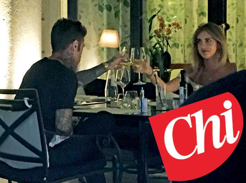 Fedez, cena romantica (e non solo) con Chiara Ferragni