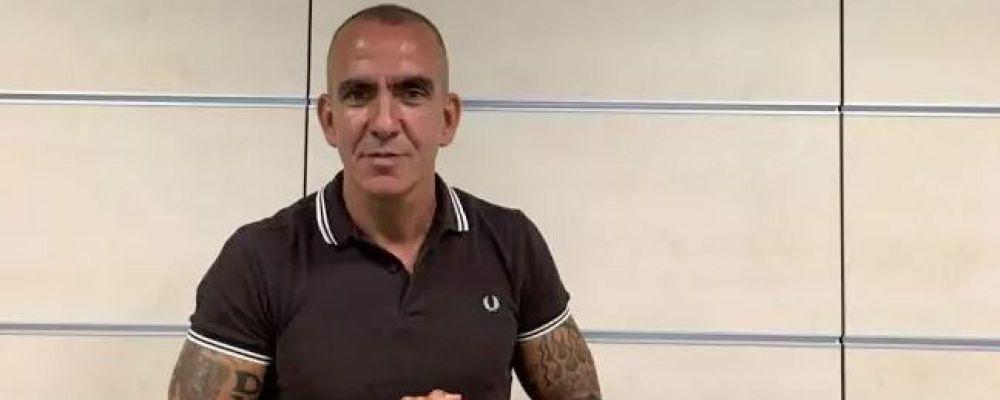 Sky Sport sospende Paolo Di Canio per il tatuaggio fascista