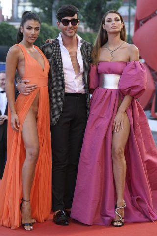 Giulia Salemi e Dayane Mello, spacco esagerato alla Mostra del cinema di Venezia
