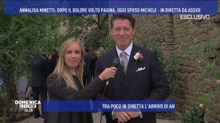 Annalisa Minetti, le immagini del matrimonio in diretta da Barbara D'Urso