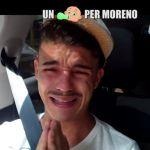 Le Iene, lo scherzo a Moreno: 'Aspetti un figlio'. Il rapper disperato