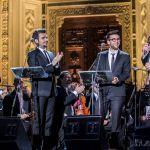 Il Volo tributo ai tre tenori, su Canale 5 il concerto con Placido Domingo