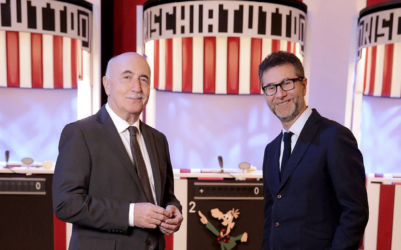 Rischiatutto, Fabio Fazio riparte con il quiz di Mike Bongiorno il 27 ottobre su Rai3