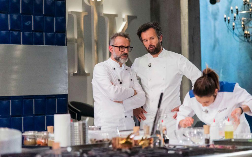Televisione, Bottura è l'ospite della nuova puntata di Hell's Kitchen Italia