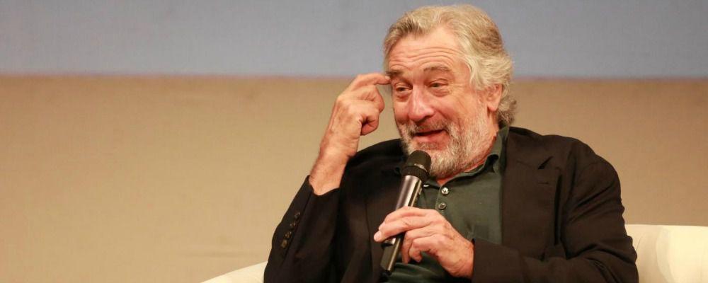 La prima serie tv per Robert De Niro sarà sul crimine organizzato