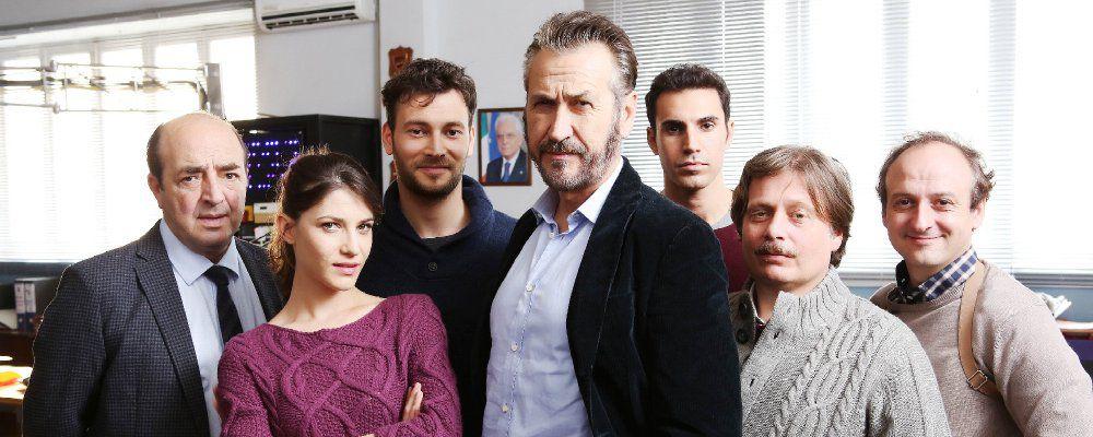 Ascolti tv, Rocco Schiavone meglio di Solo: Giallini batte Bocci