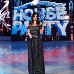 House Party, fotoracconto del Natale in tv di Laura Pausini e Gerry Scotti