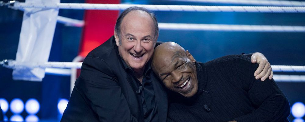 Little Big Show, Gerry Scotti al timone del talent kids. Ospite Mike Tyson