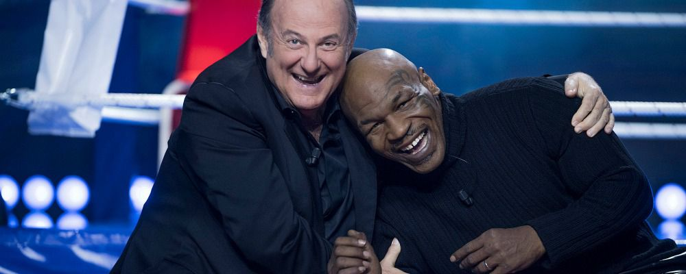 Little Big Show, Gerry Scotti al timone del talent kids. Ospite Mike Tyson
