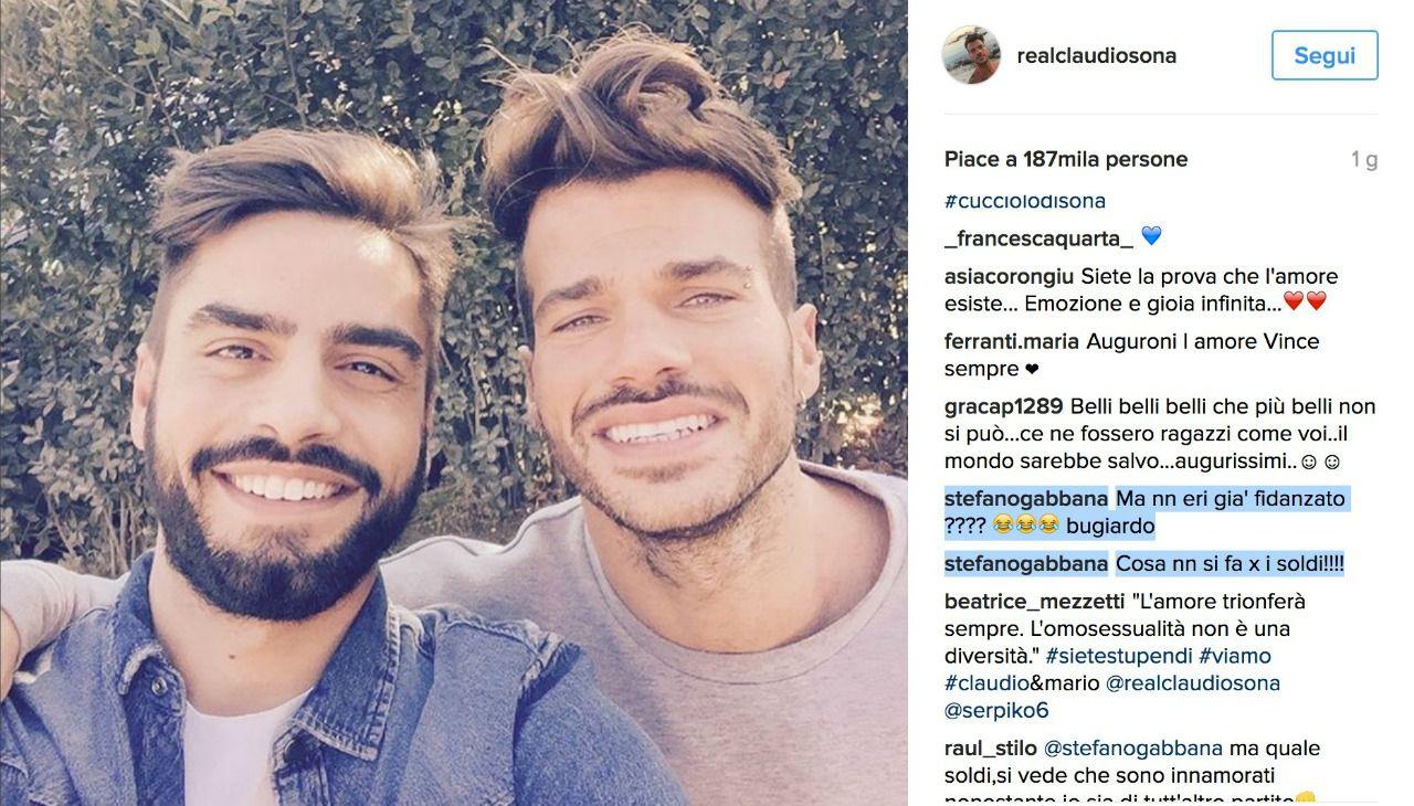 Claudio Sona sbugiardato da Stefano Gabbana?