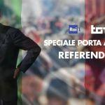 Speciale Porta a Porta, Bruno Vespa commenta l'esito del referendum