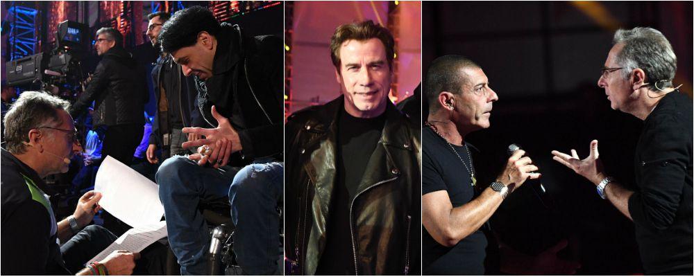 Music, Paolo Bonolis su Canale 5 con John Travolta