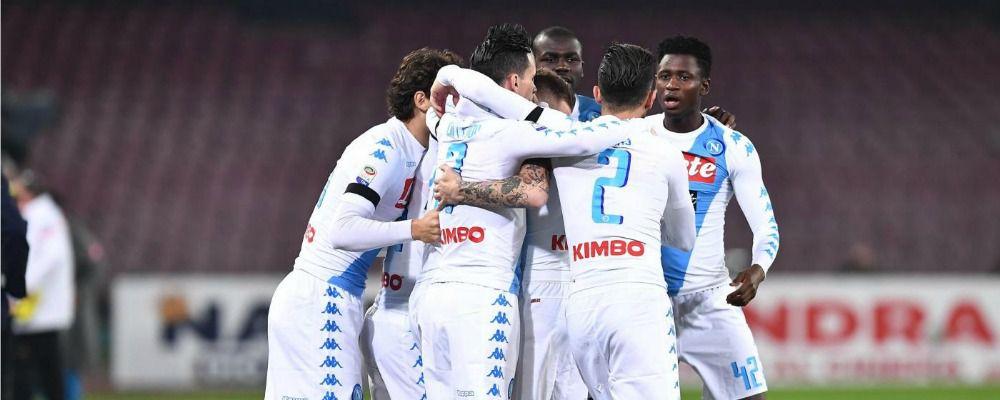 Napoli – Benfica, gli azzurri si giocano gli ottavi di Champions League