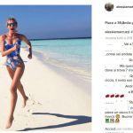 Alessia Marcuzzi è già sull'Isola, ma quella dell'amore