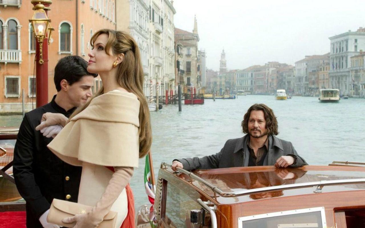 The Tourist, l'amore veneziano tra Johnny Depp e Angelina Jolie arriva in tv