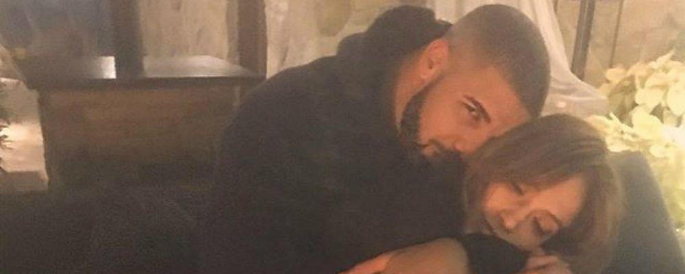Jennifer Lopez e Drake, tutto vero: il bacio social a Capodanno
