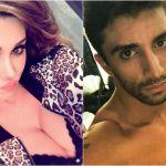 Belen Rodriguez e Andrea Iannone, il 'bacio indimenticabile' è social